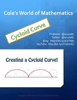 Enrichment Activity: Creating the Cycloid Curve