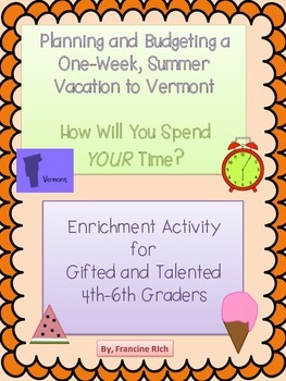 Enrichment Activity for Gifted and Talented 4th-6th Graders