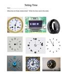 Enrichment Clocks, Telling Time