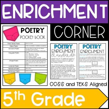 Enrichment Corner 5th Grade