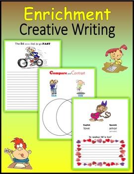 Enrichment:  Creative Writing