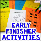 Enrichment Early Finishers Activities (Finish Early Tasks)