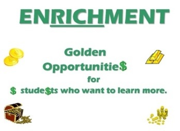 Enrichment, Finish Early, 10 activities ANY Subject, No Prep Required!