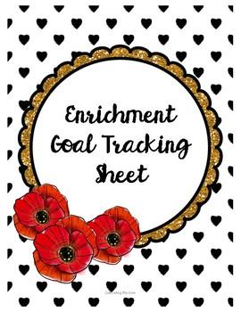 Enrichment Goal Tracking Sheet
