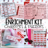 Valentine's Day Activities February Early Finisher Activit