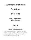 Enrichment Packet