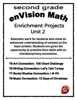 Enrichment Project Packet Unit 2 enVision Math 2nd Grade