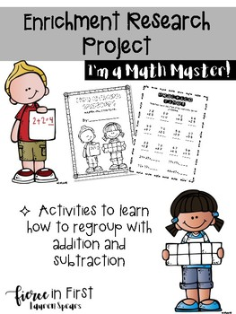 Enrichment Research Project ~ I'm a Math Master!