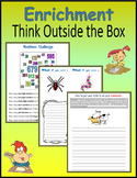 Enrichment:  Think Outside the Box