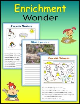 Enrichment:  Wonder