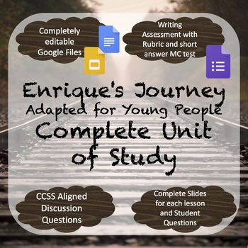 Enrique's Journey (Adapted for Young People) Unit of Study