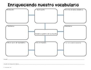 Enriqueciendo nuestro vocabulario