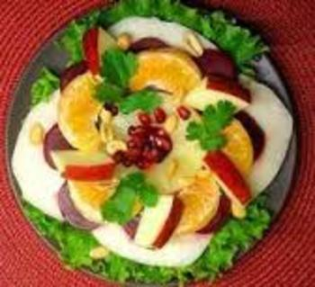 Ensalada Mexicana - perfect for Memorial Day or Labor Day!