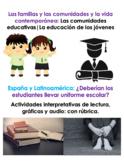 Ensayo Persuasivo: ¿Deberían los estudiantes llevar uniforme escolar? AP SPANISH