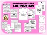 Ensemble 'ANTI-INTIMIDATION' FRENCH anti-bullying bundle