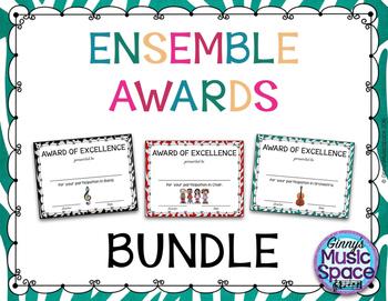 Ensemble Awards {BUNDLE}
