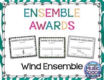 Ensemble Awards {Wind Ensemble}
