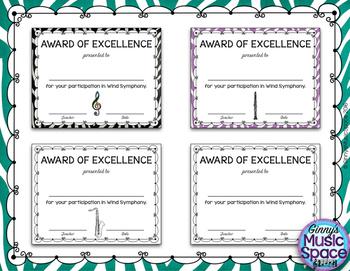 Ensemble Awards {Wind Symphony}