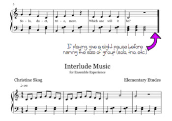 Ensemble Experience: A Game for Musical Groups