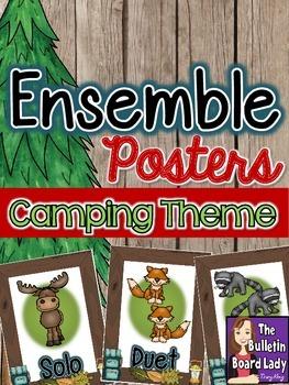 Ensemble Posters - Camping Theme