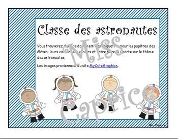 Ensemble astronautes