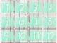 Ensemble calendrier [Lettres cursives]