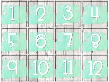 Ensemble calendrier [Lettres détachées]