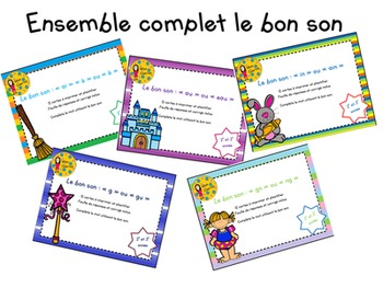 Ensemble complet: Le bon son