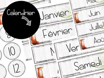 Ensemble complet + Planificateur 4AM2PM 2018-2019 // Renards & Forêts