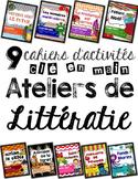 Idées en français: centres de littératie