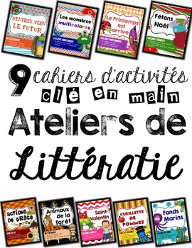 Ensemble complet de 9 kits de littératie