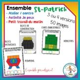 Ensemble d'ateliers sur la St-Patrick / FRENCH activities