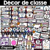 Ensemble d'étiquettes pour la classe - Espace - French Classroom Decor Bundle