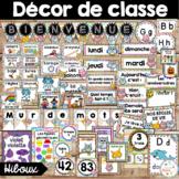 Ensemble d'étiquettes pour la classe- Hiboux -French Classroom Decor Bundle
