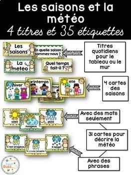 Ensemble d'étiquettes pour la classe- Singes -French Classroom Decor Bundle