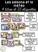 Ensemble d'étiquettes pour la classe- Super-héros -French Classroom Decor Bundle
