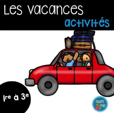 Ensemble d'activités Fin d'année/ End of the year french activity bundle