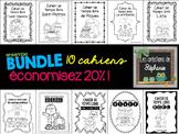 Ensemble de cahiers de temps libre FRENCH ACTIVITY BOOKLET BUNDLE