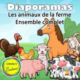 Ensemble de diaporama – Les animaux de la ferme