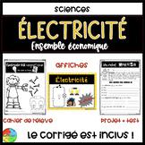 Ensemble économique - Électricité BUNDLE + CORRIGÉ