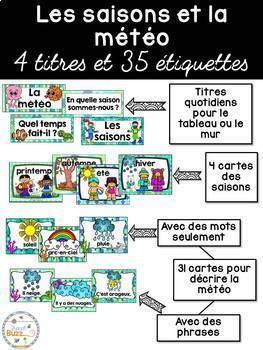 Ensemble étiquettes pour la classe - Océan - French Classroom Decor Bundle