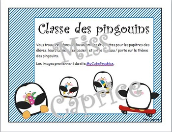 Ensemble pingouins