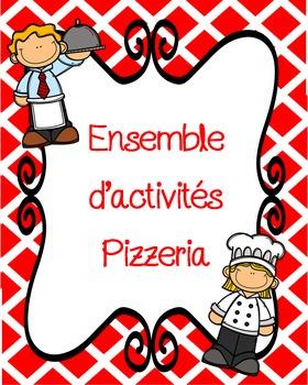 Une trousse de pizzeria/French Pizzeria bundle