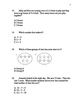Entering 2nd Grade Summer Math Packet