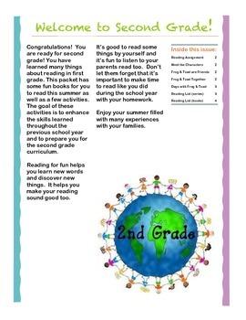 Entering 2nd Grade Summer Reading