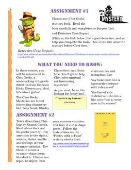 Entering 4th Grade Summer Reading