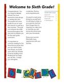 Entering 6th Grade Summer Reading