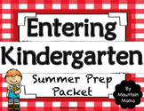 Entering Kindergarten Summer Packet