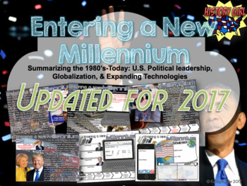 Entering a New Millennium: PowerPoint and Student Infographic Notes Sheet