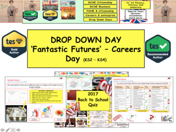Enterprise - Careers Drop Down Day on the World around you 'Fantastic Futures'